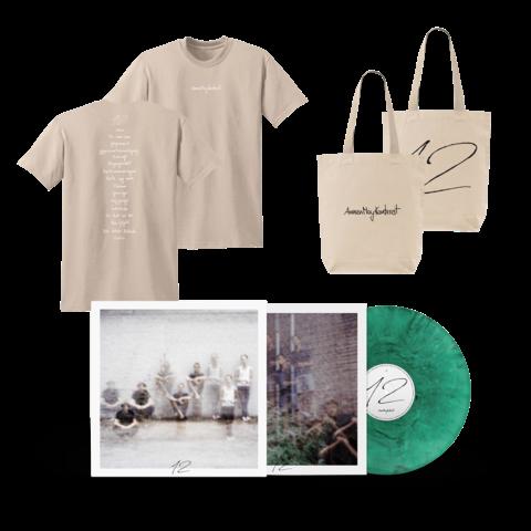 √12 (Ltd. Deluxe LP + Oxfam T-Shirt Herren + Beutel) von AnnenMayKantereit - lp bundle jetzt im AnnenMayKantereit Shop